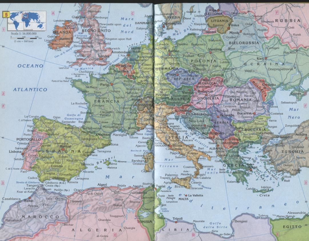 Cartina Italia E Africa.Europa E Nord Africa Mappe Nelle Politiche Sociali E Nei Servizi