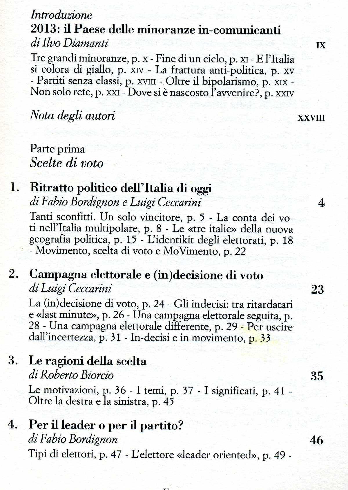 Ilvo Diamanti, Fabio Borghignon, Luigi Ceccarini, UN SALTO