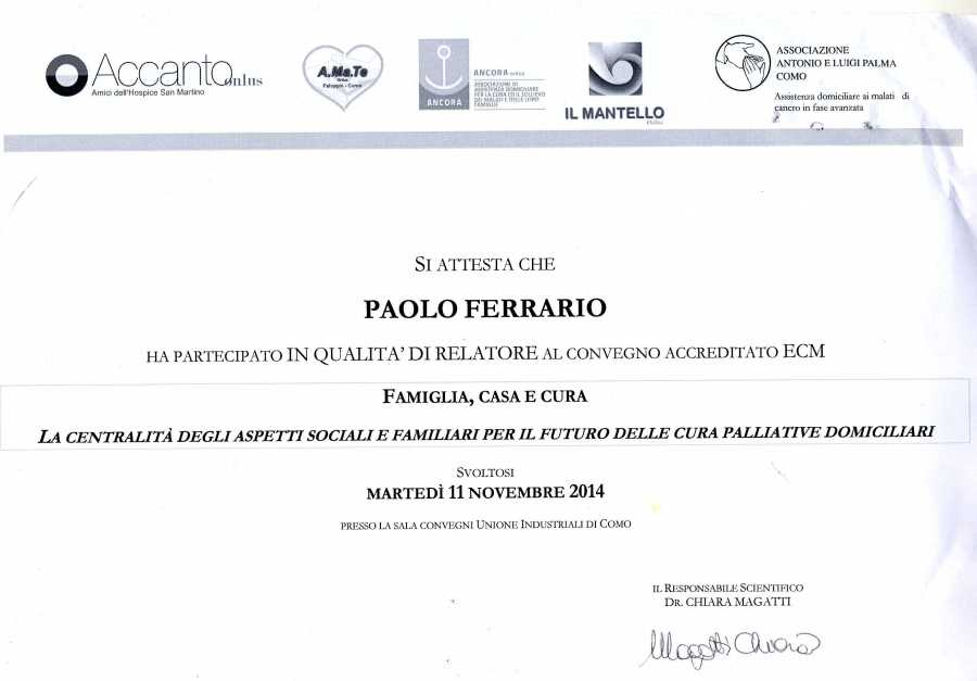 attestato cure palliative1604