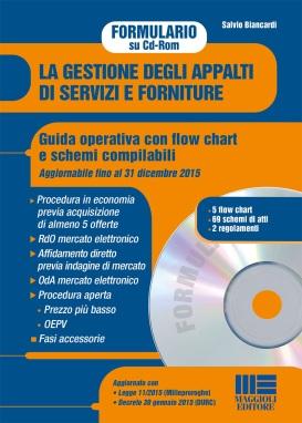 La gestione degli appalti di servizi e forniture - Formulario su Cd-Rom