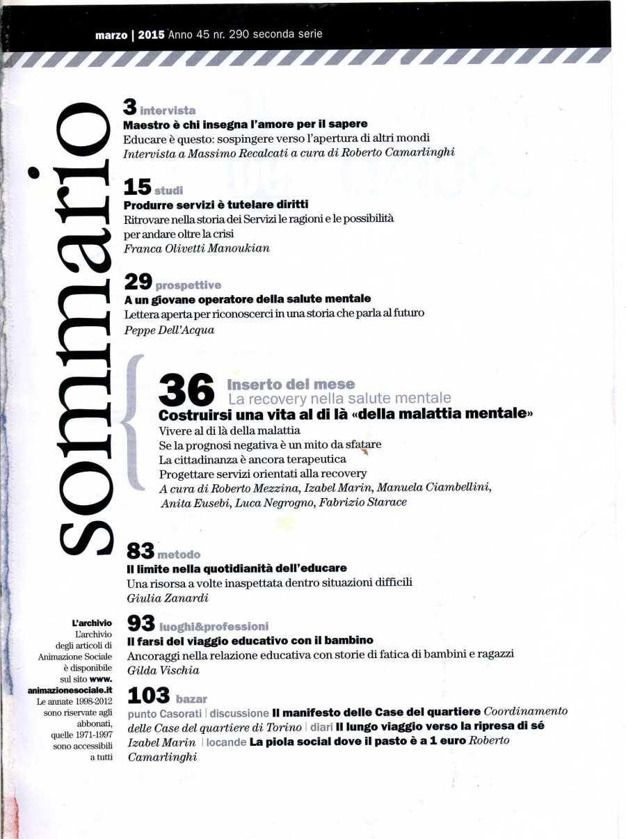 ANIMAZIONE sociale 2902677