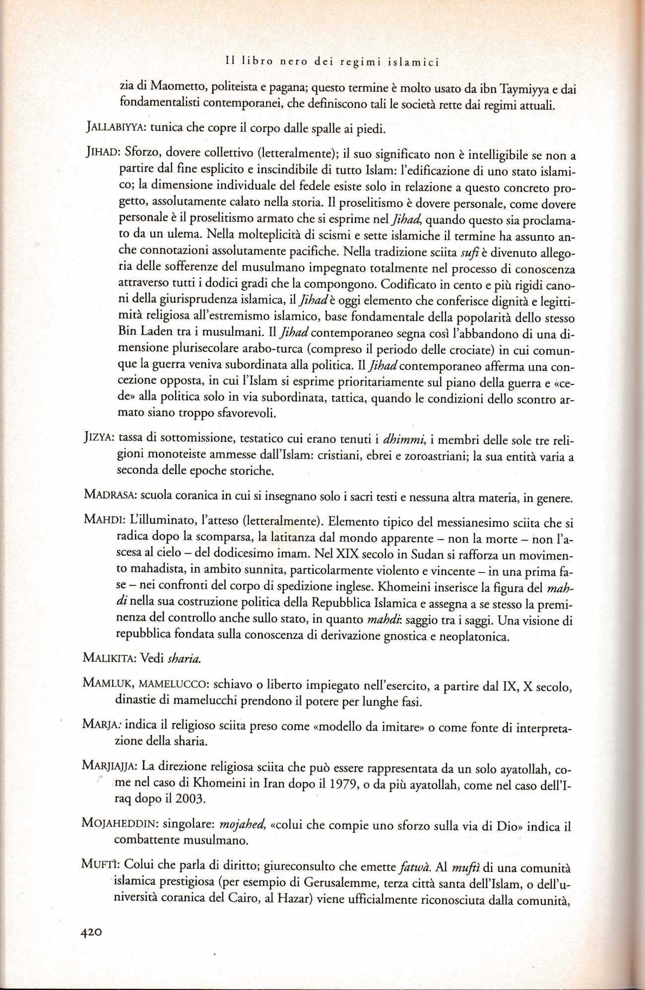 PANELLA libro nero regimi islamici2359