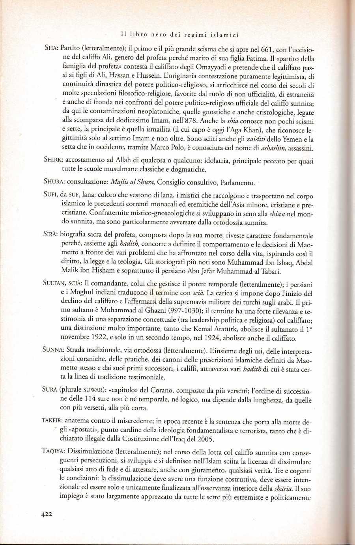 PANELLA libro nero regimi islamici2361