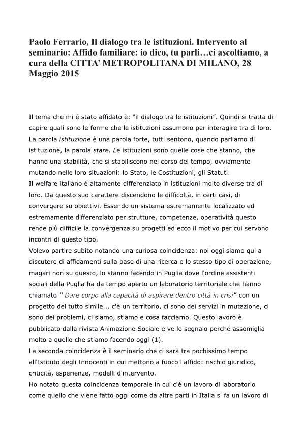 Paolo Ferrario Dalogo Istituzioni-p01