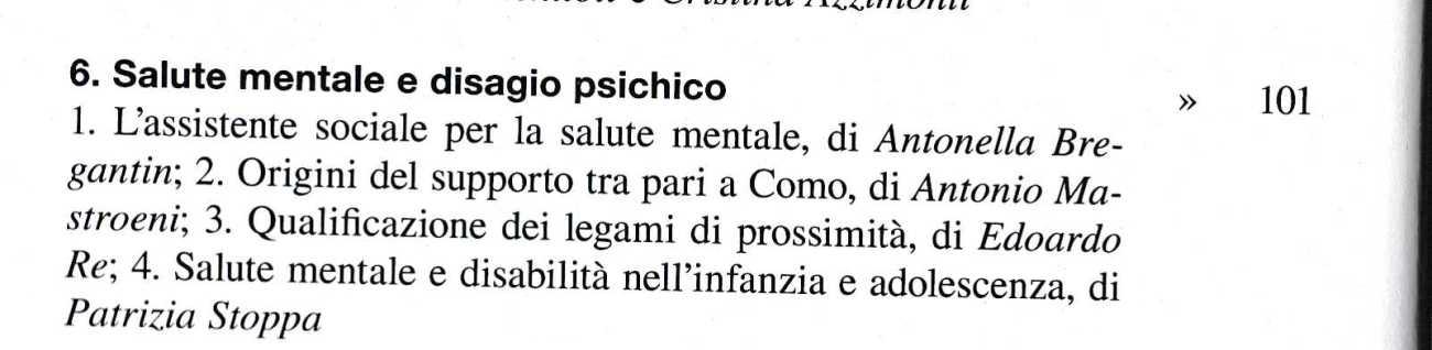 SALUTE MENTALE306