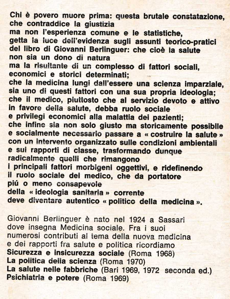 berlinguer MEDICINA E POLITICA139
