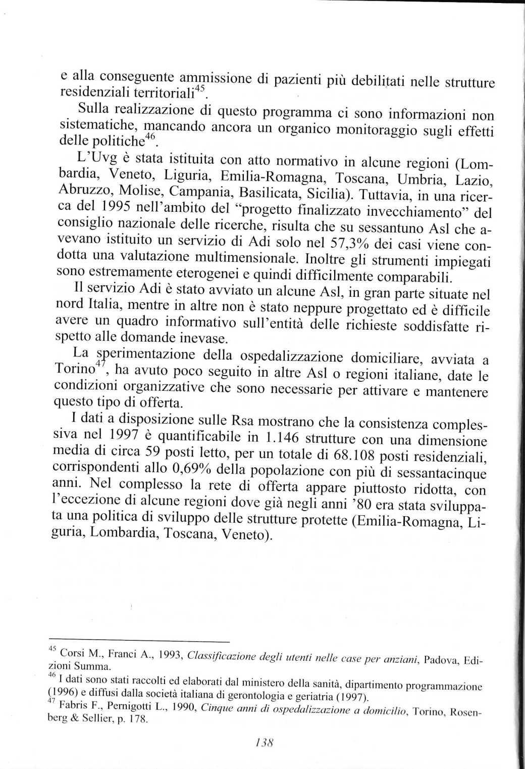 anziani politiche servizi 2005 ferrario paolo1321