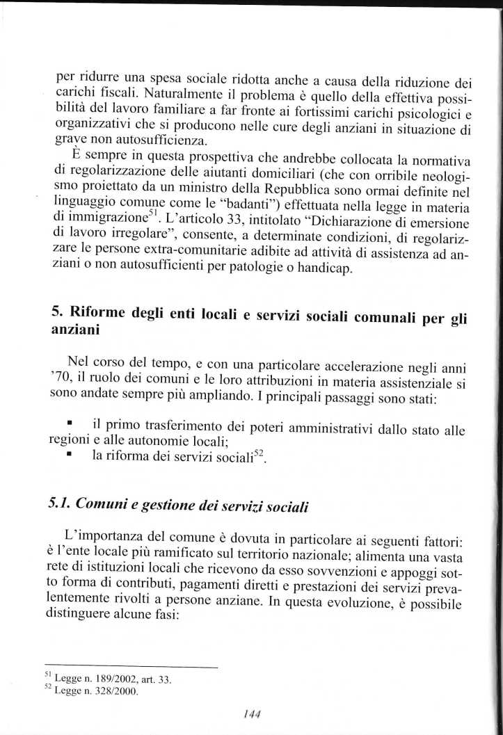anziani politiche servizi 2005 ferrario paolo1327