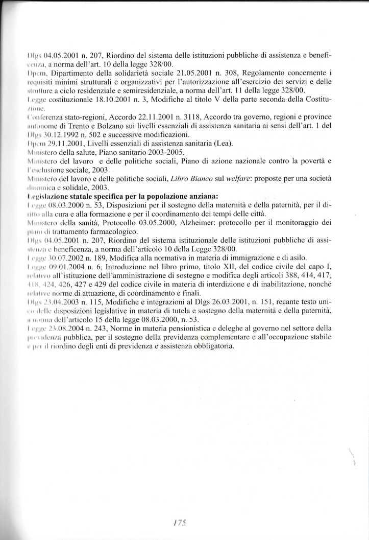 anziani politiche servizi 2005 ferrario paolo1358