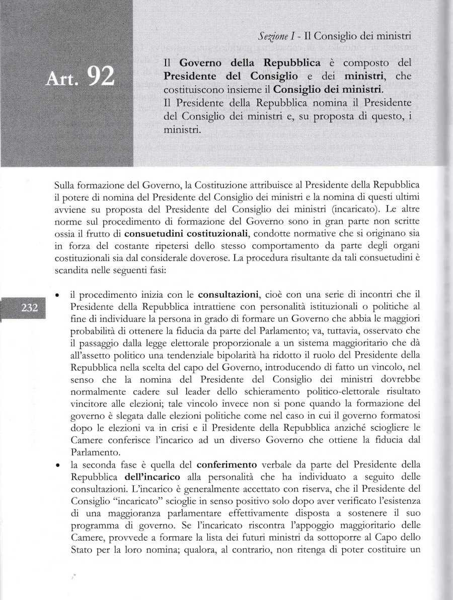COSTITUZIONE ARTICOLO 922068