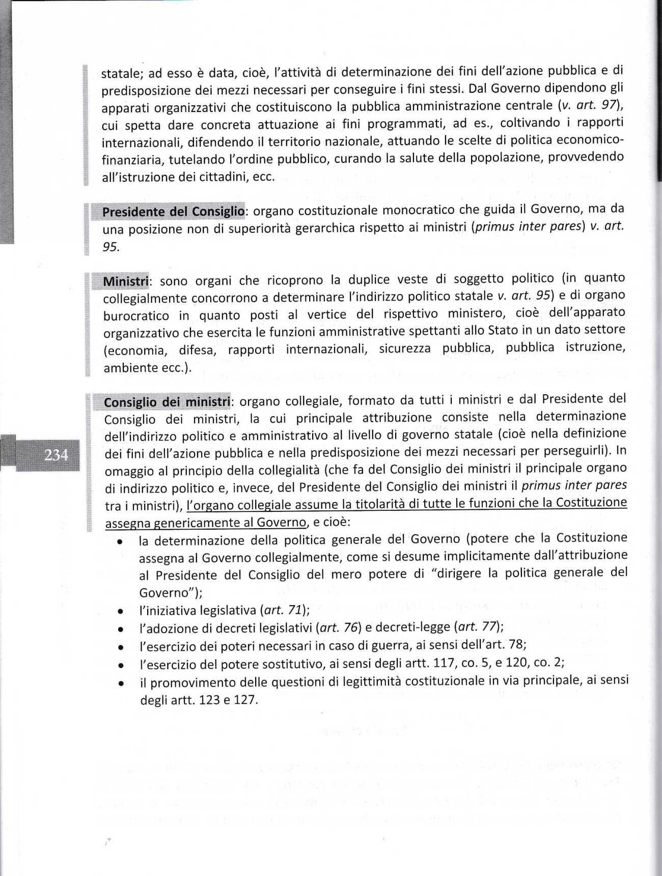 COSTITUZIONE ARTICOLO 922070