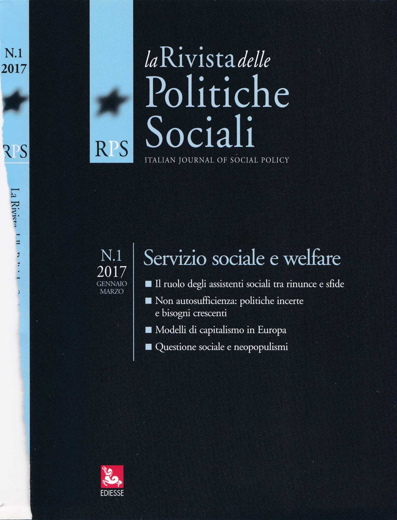 RIVISTA POLITICHE SOCIALI2295