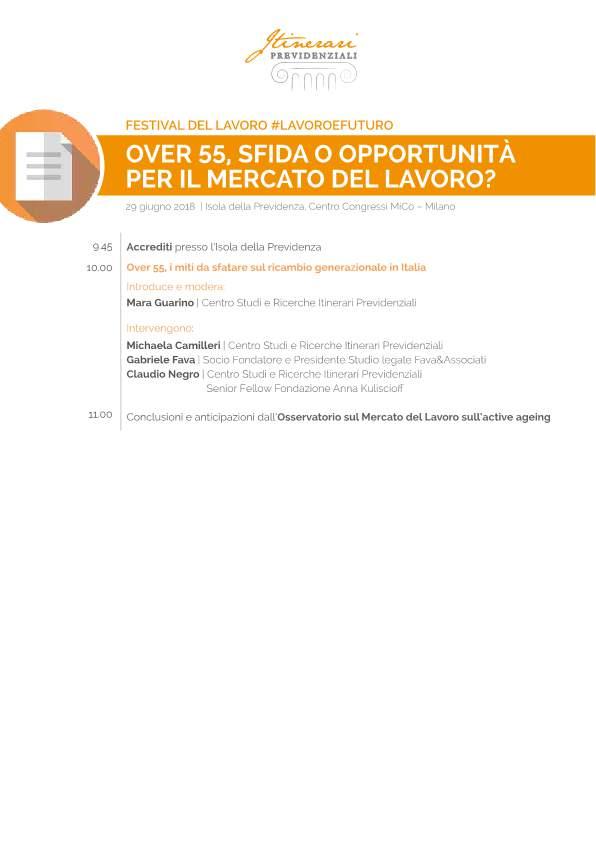 Programma Convegno dedicato agli over 55 - Festival del Lavoro-p1