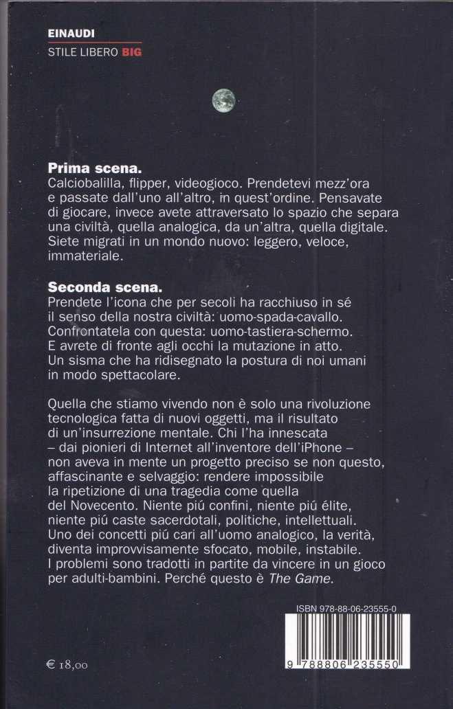 BARICCO GAME3612