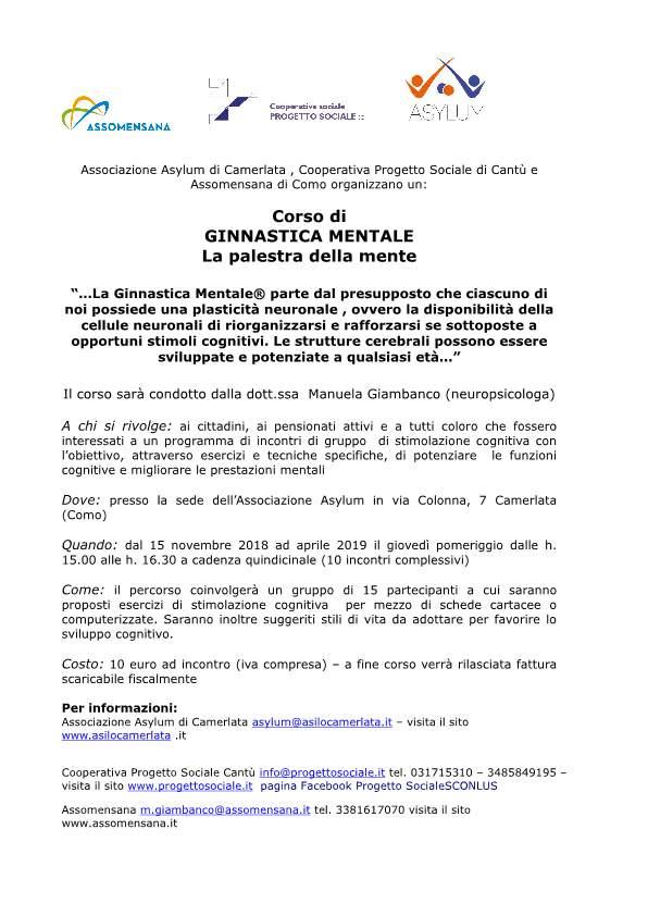 Volantino corso Ginnastica Mentale-p1
