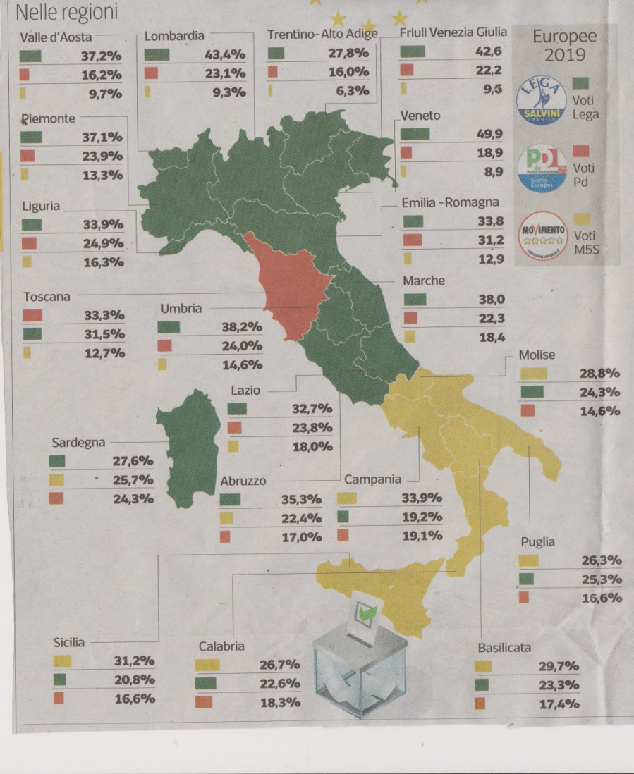map euro1749