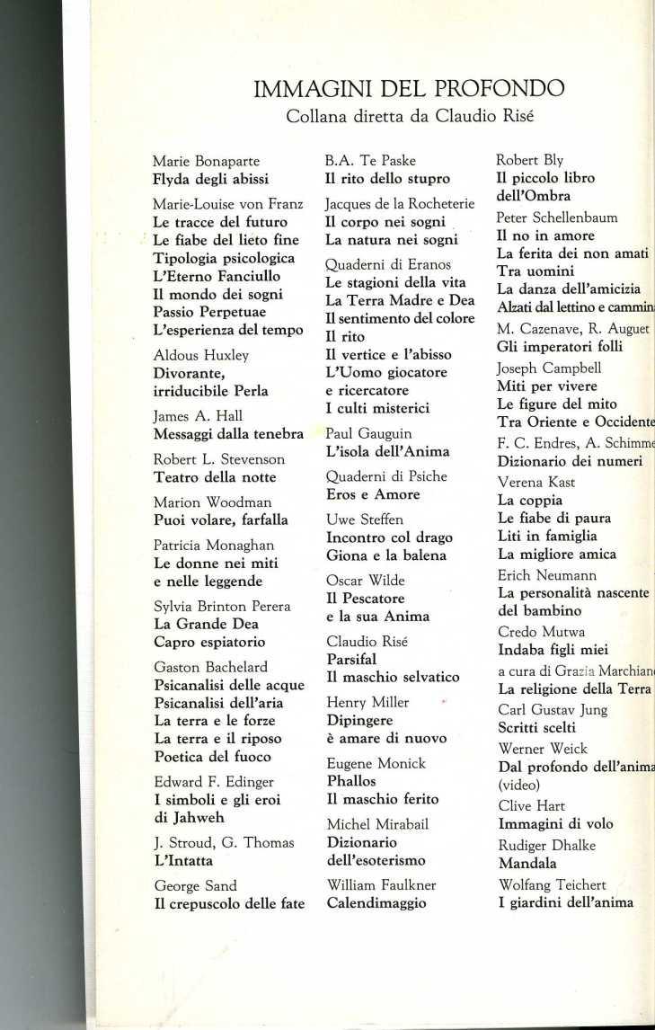 Indice Red Immagini del Profondo1899