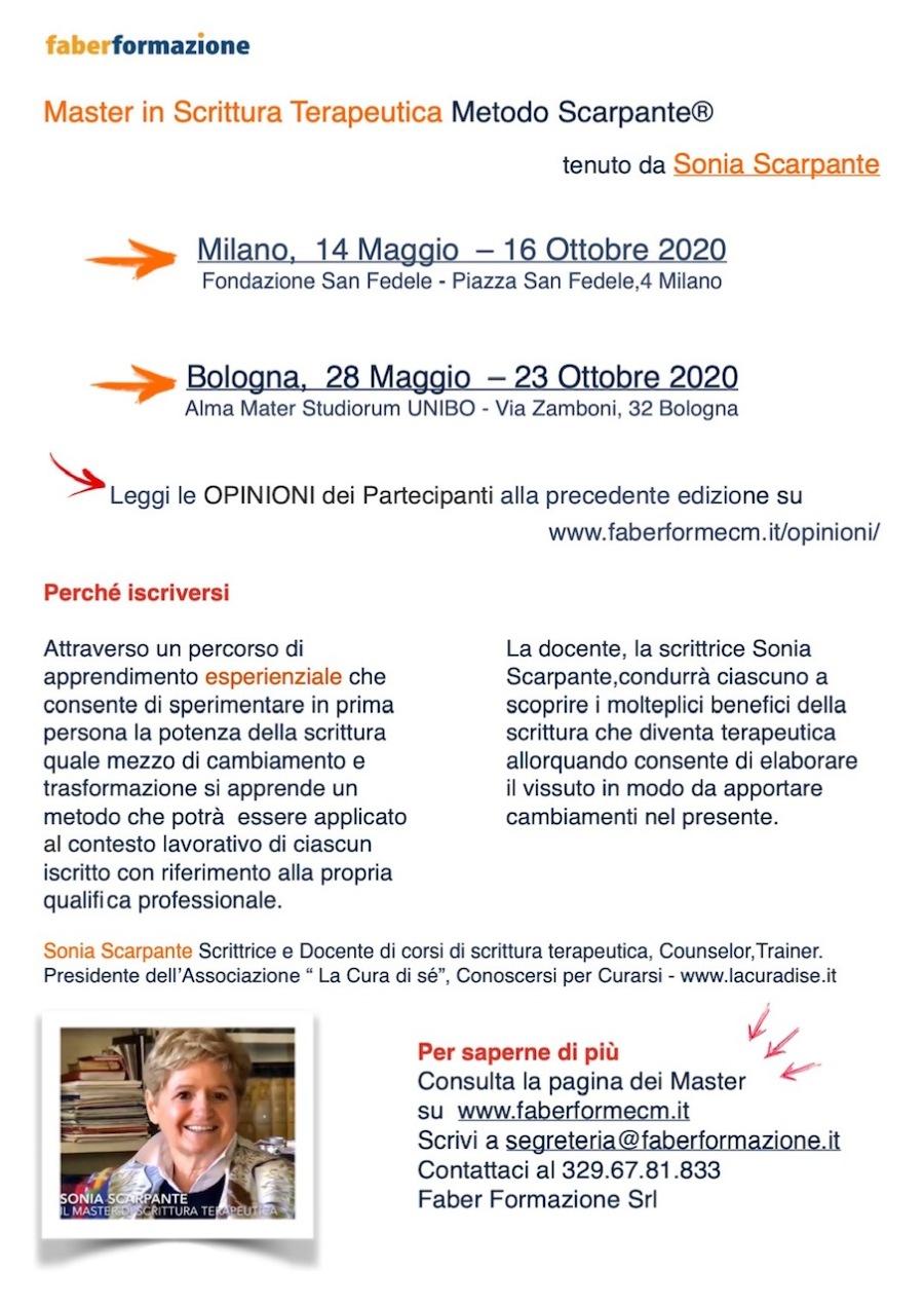 Presentazione Master 2020